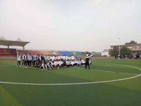体育教学部教学技能大赛圆满结束
